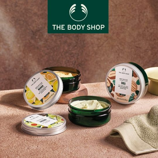 Photo Beurre Corps de The Body Shop à Chavannes